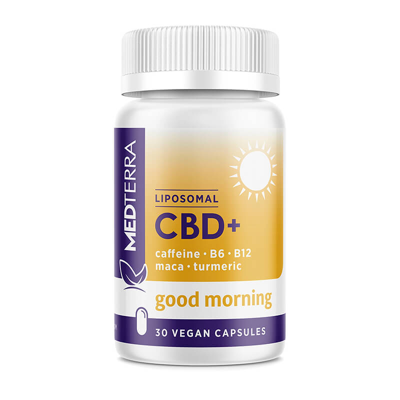 Medterra - CBD Capsules - Liposomal Good Morning Capsules - 25mg