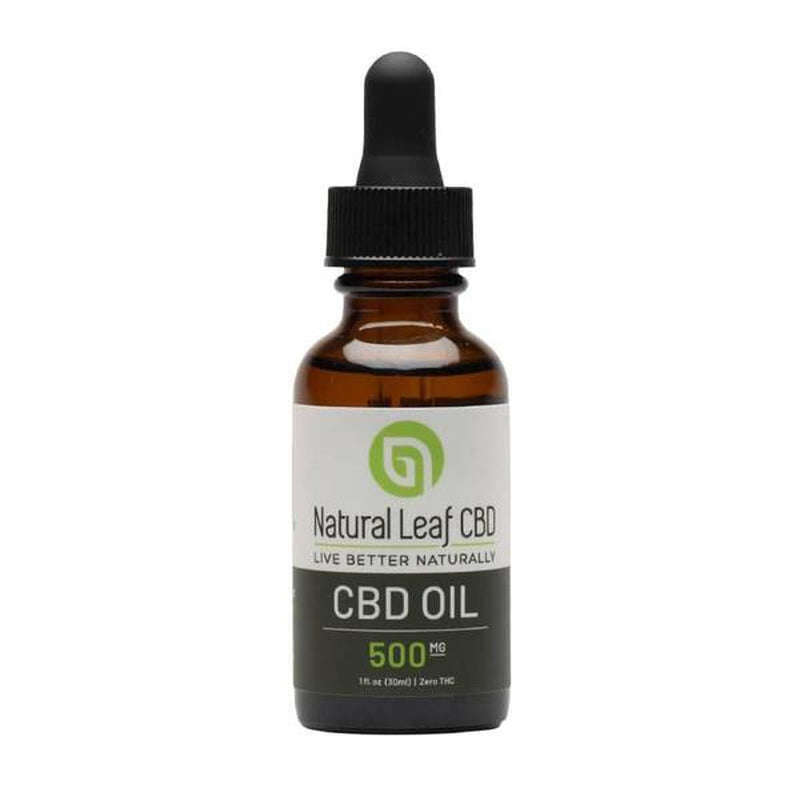 Natural Leaf CBD - CBD Tincture Oil - 500mg-1500mg
