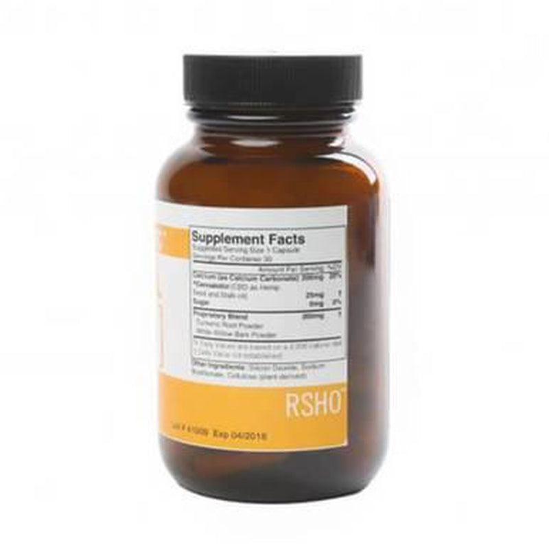 RSHO - CBD Capsule - Gold Label Hemp Oil Capsules - 25mg