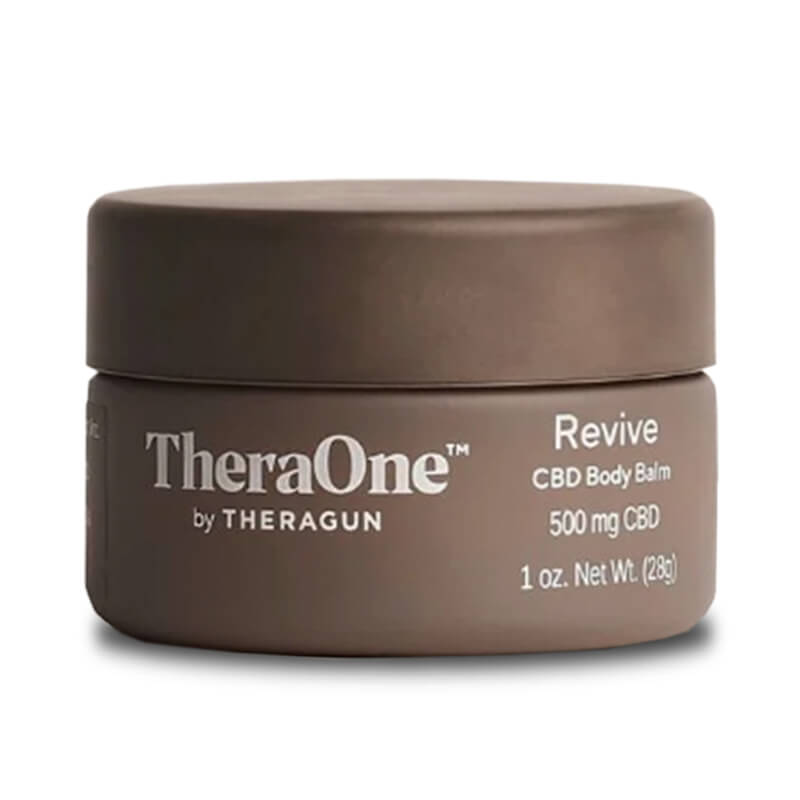 TheraOne by Theragun - CBD Topical - Revive Balm Jar - 500mg