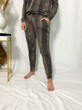 The Wendy Snakeskin Lounge Pants