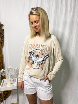 The Cristy Dreamer Butterfly Pullover