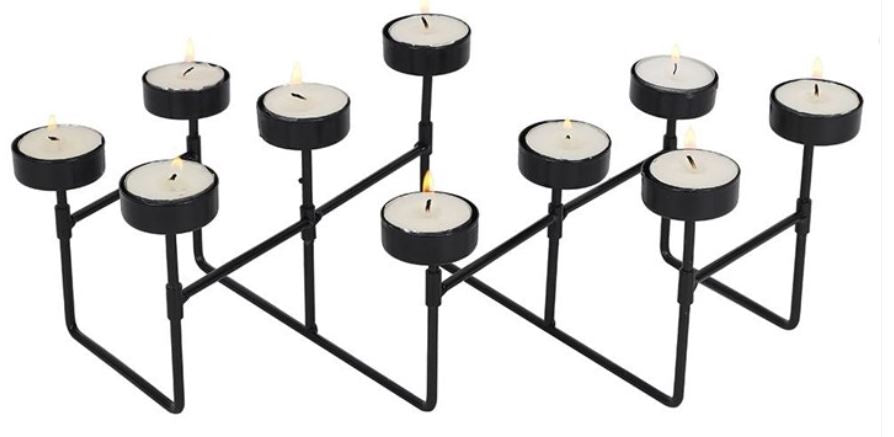 Expandable Metal Tealight Holder Sustainable Sloth