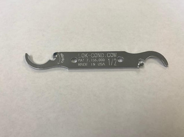 "#7150 - 1/2"" Lok Cond Conduit Fitting Straight Wrench"