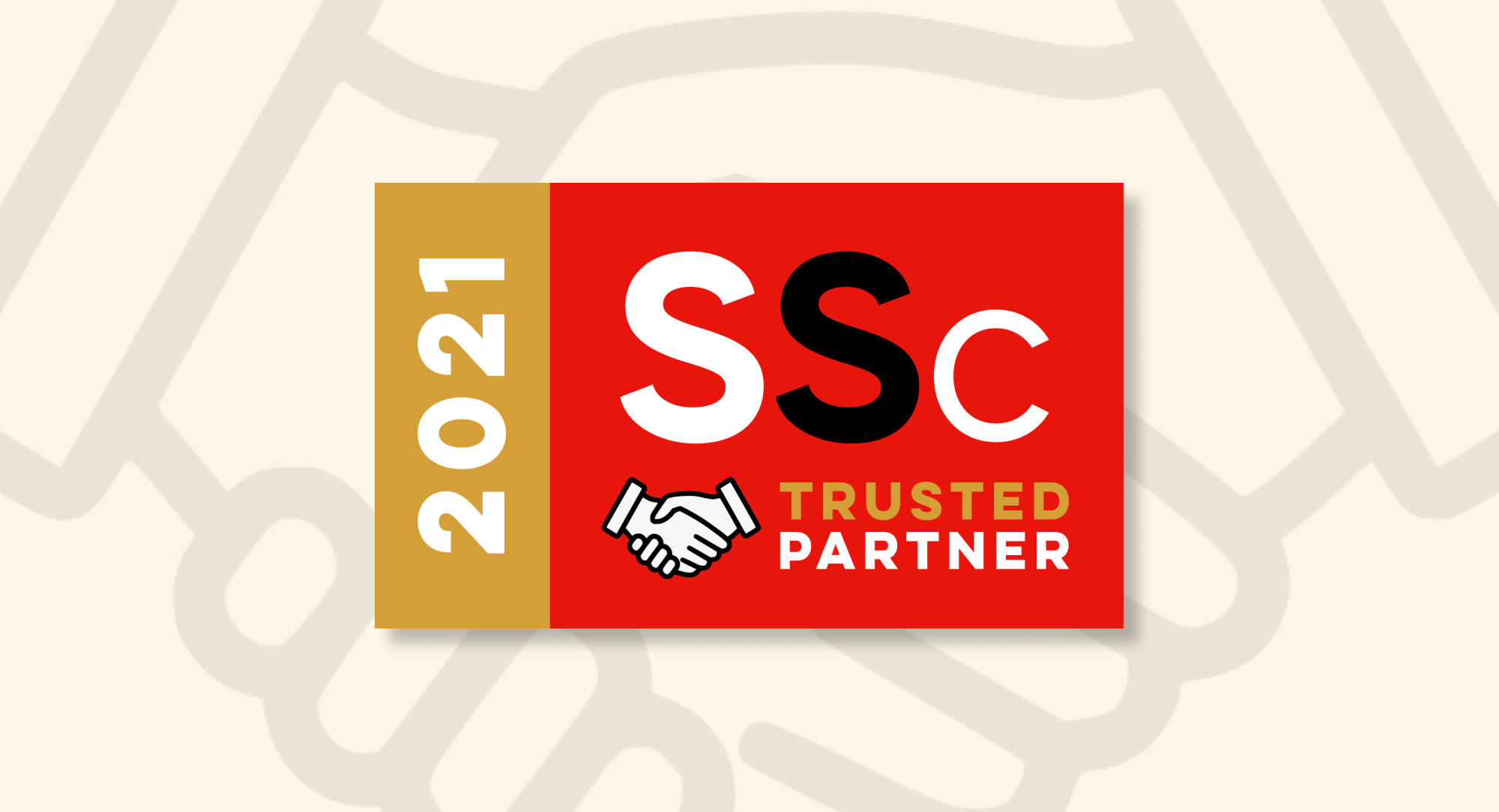 Nos « SSC Trusted Partners » pour 2021