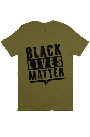 olive BLM T Shirt