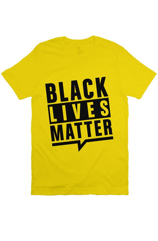 yellow BLM T Shirt