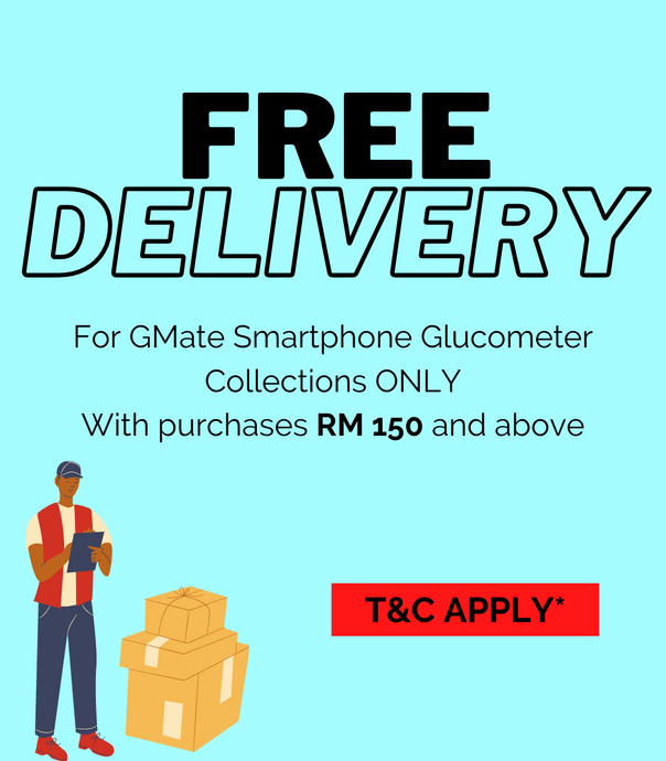 FREE SHIPPING FOR GMATE SMARTPHONE GLUCOMETER COLLECTION!