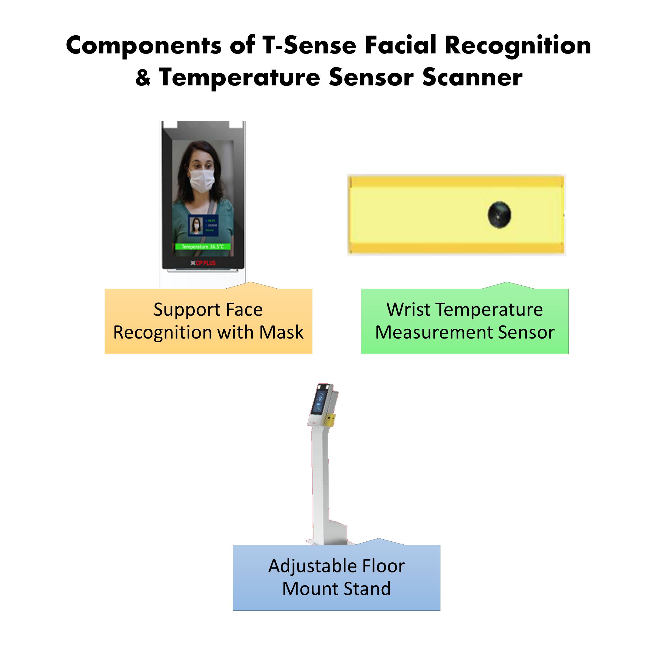 Facial Recognition & Temperature Sensor Scanner - SPECIAL OFFER!