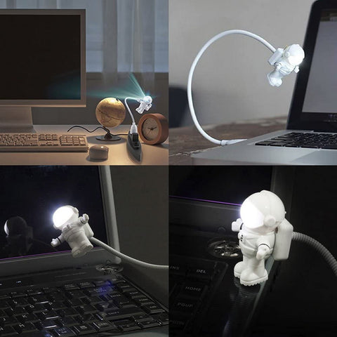 Astronaut USB Charging Night Light
