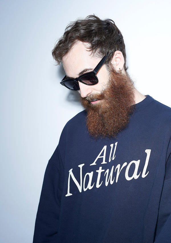 All Natural Crew Neck NAVY