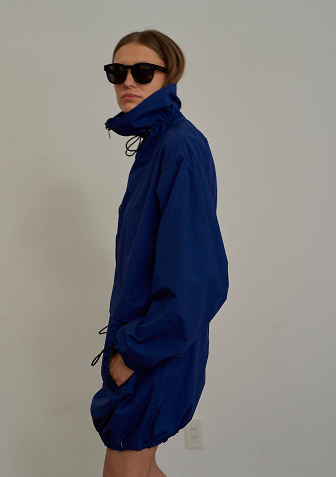 Silicon Coating Anorak ROYAL BLUE