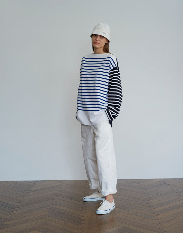 Cotton Twill Pants WHITE