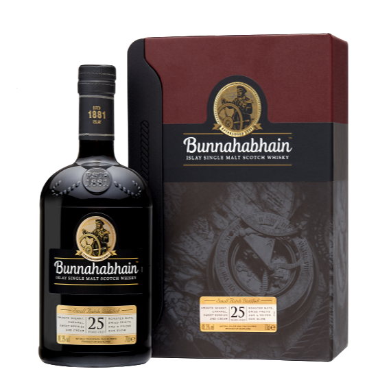 Bunnahabhain Islay Single Malt 25YO