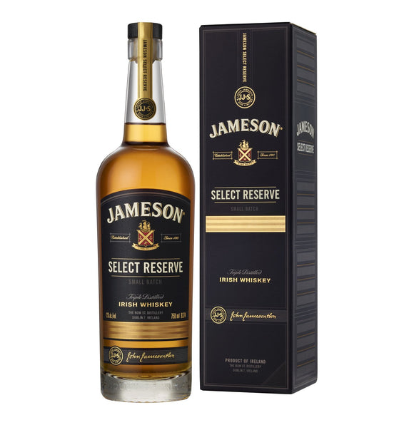 Jameson Select Reserve 750ml - Flytap Liquor Shop