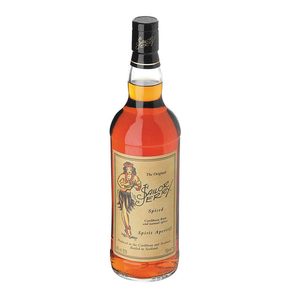 Sailor Jerry Spiced Caribbean Rum 750ml - Flytap Liquor Shop