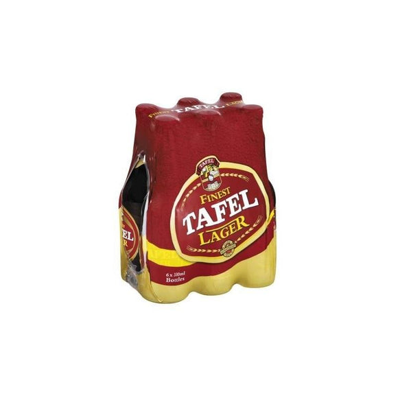 Tafel Lager 330ml NRB - 6 Pack - Flytap Liquor Shop