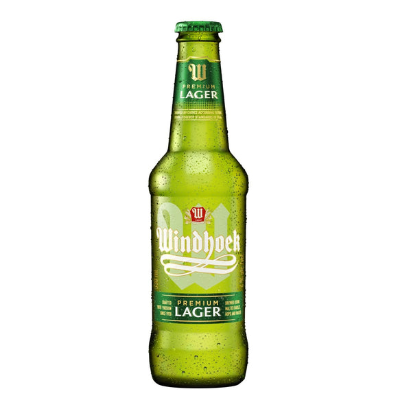 Windhoek Lager 330ml NRB - 6 Pack - Flytap Liquor Shop