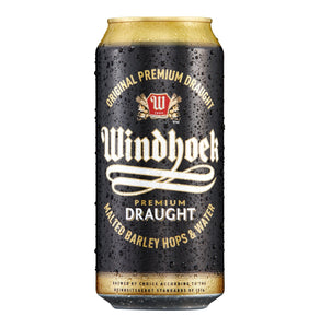 Windhoek Draught 440ml Can - 6 Pack - Flytap Liquor Shop