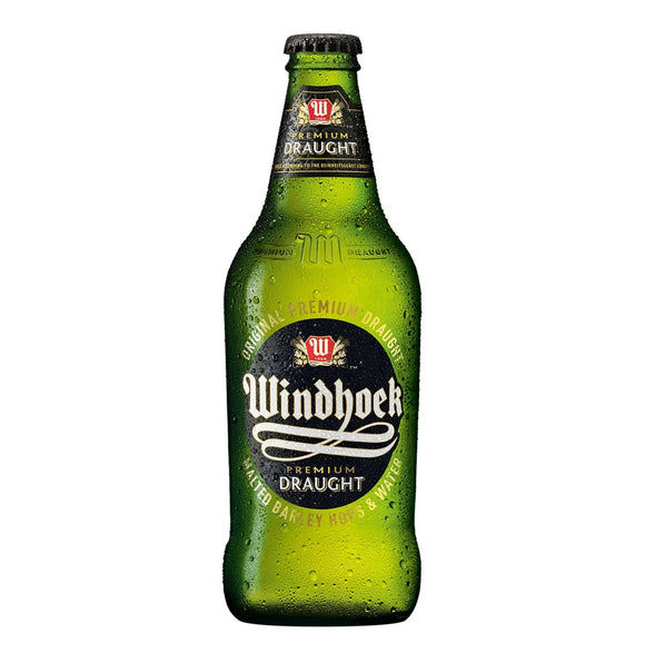 Windhoek Draught 440ml NRB - 6 Pack - Flytap Liquor Shop