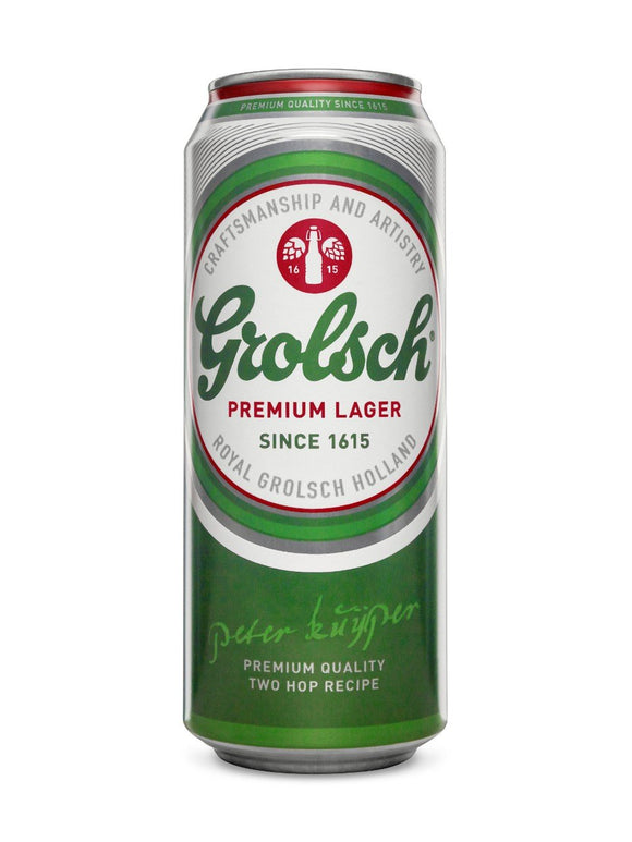 Grolsch 500ml Can - 4 Pack - Flytap Liquor Shop