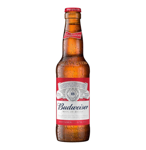 Budweiser 330ml NRB - 6 Pack - Flytap Liquor Shop