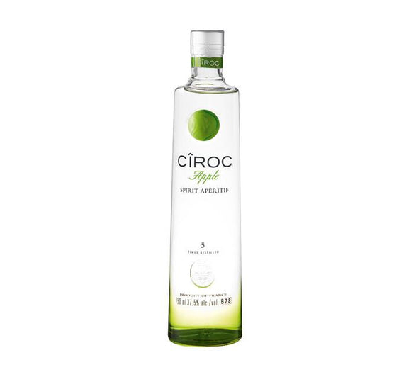 CIROC Apple Imported Vodka 750 ml - Flytap Liquor Shop