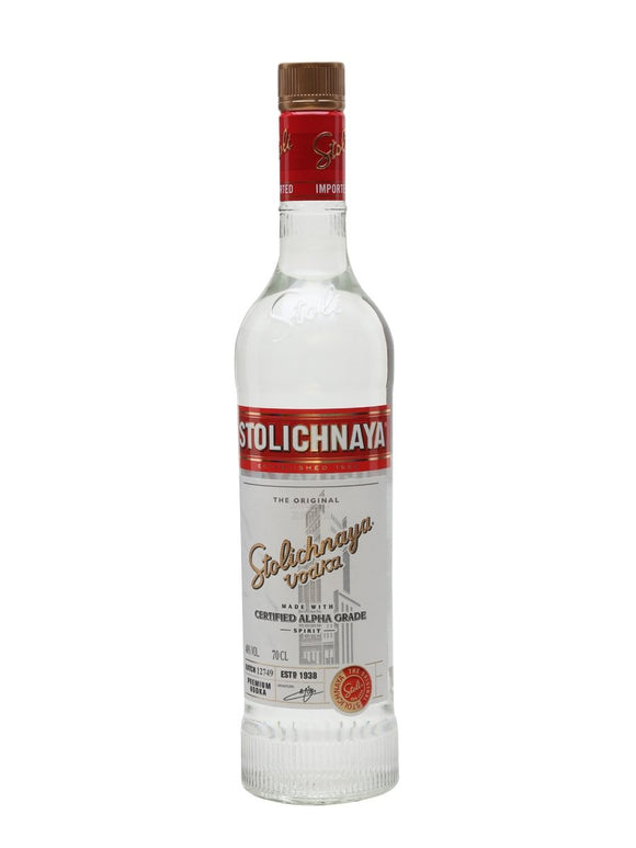 Stolichnaya Vodka 750ml - Flytap Liquor Shop