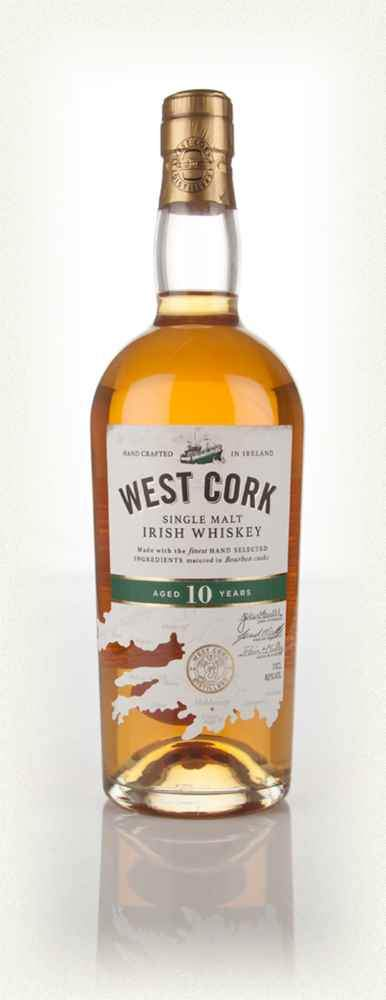 West Cork 10 Year Single Malt Irish Whiskey - Flytap Liquor Shop