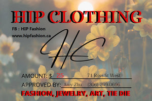 HIP Clothing Gift Card