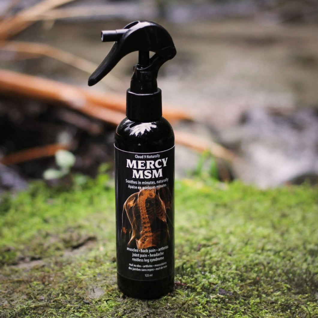 Mercy MSM Muscle Spray