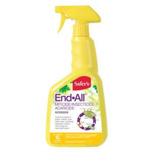 Safer's End All Miticide/Insecticide Concentrate, 1-L
