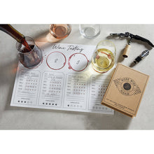 Load image into Gallery viewer, Wine Tasting Placemat