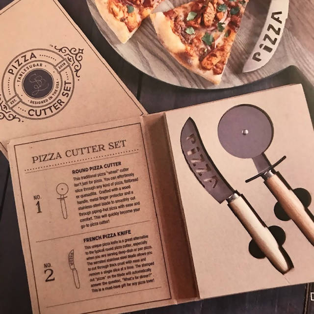 Pizza Cutter Set