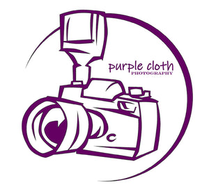 Purple Cloth Photography Gift Certificate