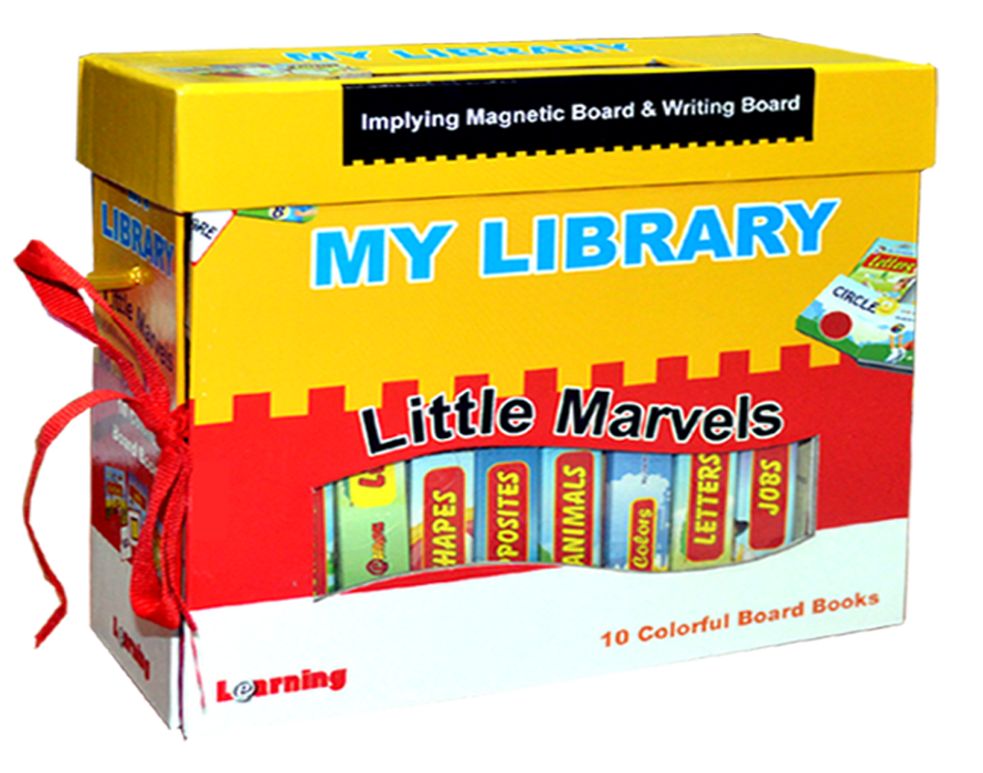 My First Library - Little Marvels ( English )