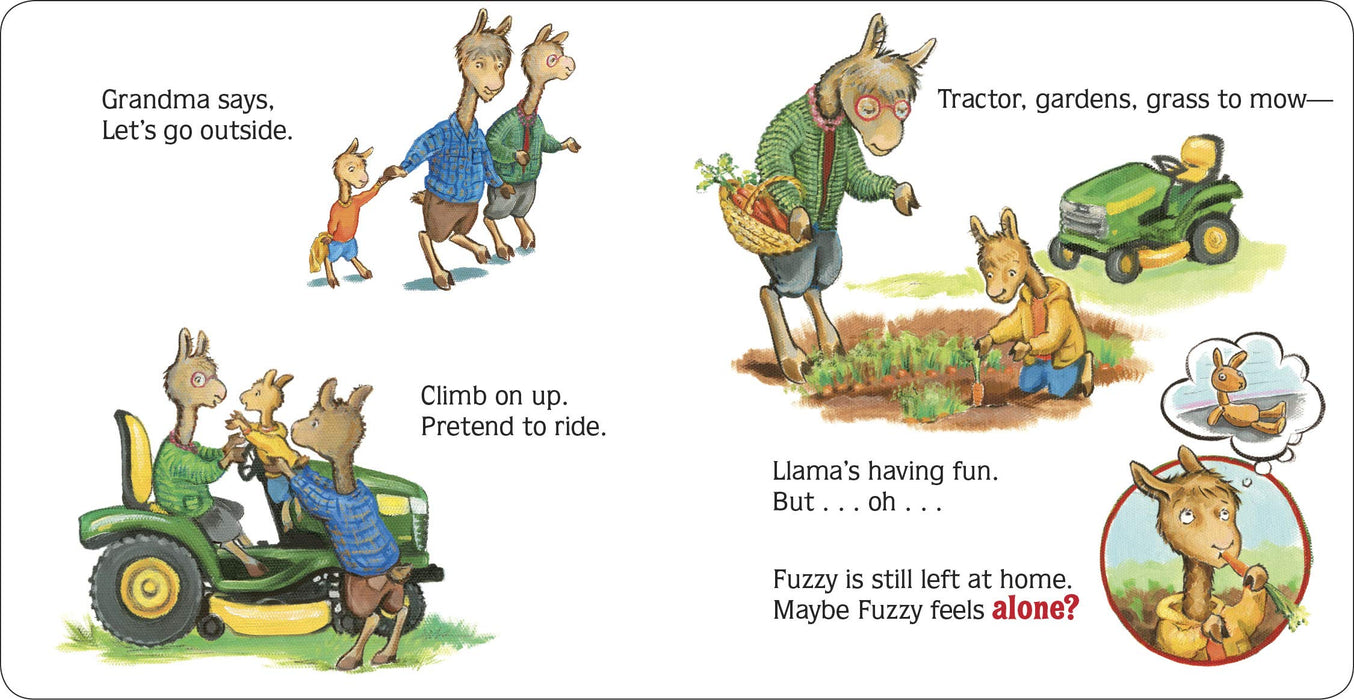 Llama Llama Gram and Grandpa Board book by Anna Dewdney