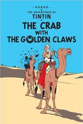 Tintin Crab With Golden Pb
