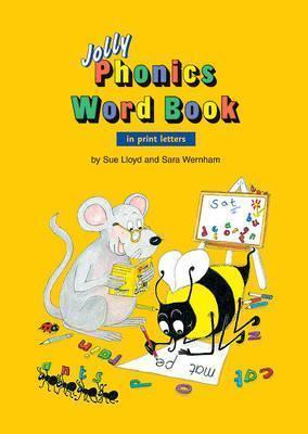 Jolly Phonics Word Book (in print letters)- (ON ORDER)