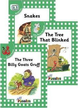 Jolly Phonics Readers, Complete Set Green Level (pack of 18)