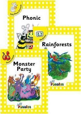 Jolly Phonics Readers, Complete Set  Yellow Level (pack of 18)