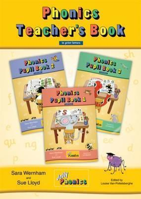 Jolly Phonics Teacher's Book (colour edition) in print letters-(ON ORDER)
