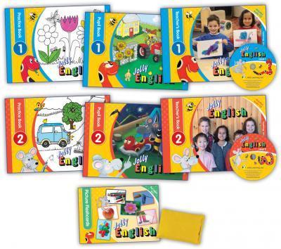 Jolly English Teacher's Kit (without puppets)*-(ON ORDER)