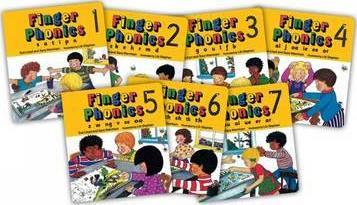 Finger Phonics set of books 1-7 (Board Books)