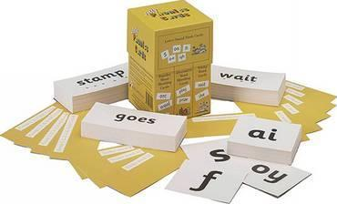 Jolly Phonics Cards (set of 4 boxes)