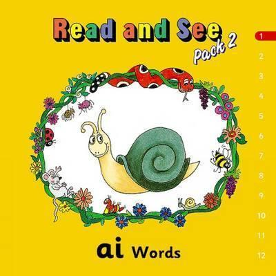 Jolly Phonics Read and See, Pack 2 (12 titles)-(ON ORDER)