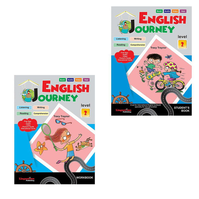 English Journey Level 2  + Apps