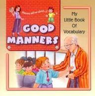 My Little Book Of Vocabulary - Table Manners