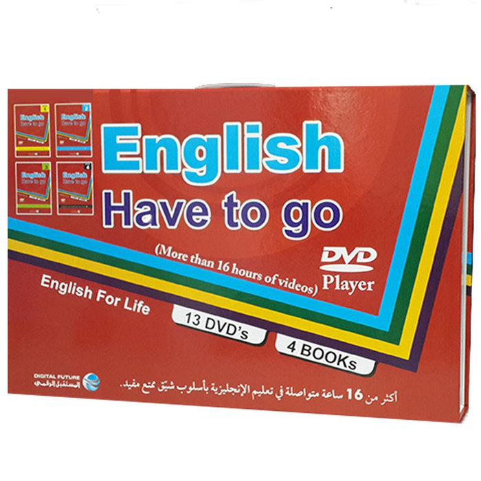 English Have To Go 13Dvd + 4 Books