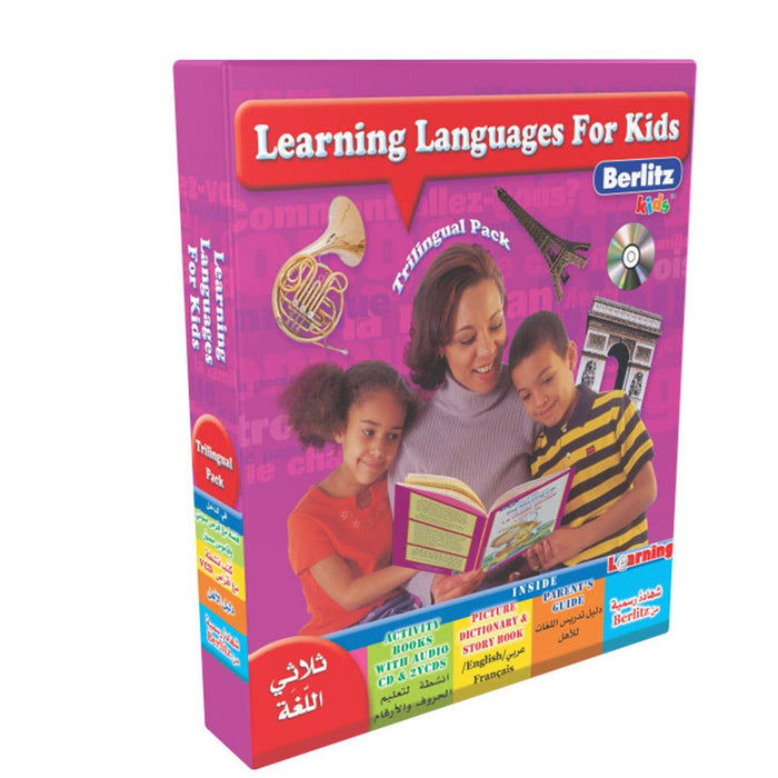 Learning Languages For Kids (Berlitz) Activity Book With Audio Cd & 2 Vcds